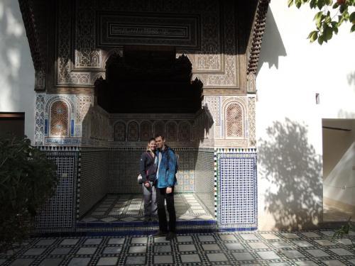 Marrákeš (Maroko) - Palác Bahia