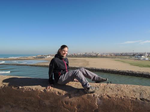 Rabat (hl. město Maroka) - pevnost Kasbah des Oudaias