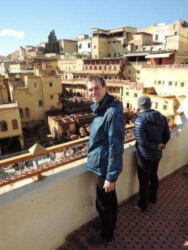 Fés (Maroko) - barvírna kůží