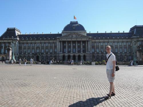 Brusel (Belgie) - Královský palác