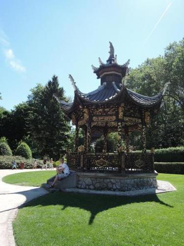 Brusel (Belgie) -Čínský pavilon