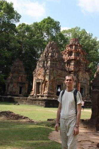 Siem Reap (Kambodža) - chrámy Angkoru